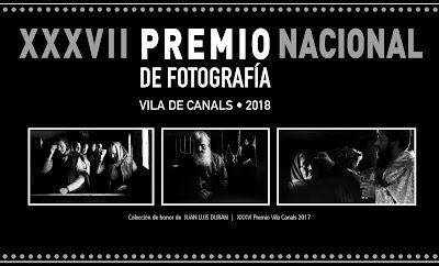 """XXXVII PREMI NACIONAL DE FOTOGRAFIA """"Vila de Canals"""" 2018"""