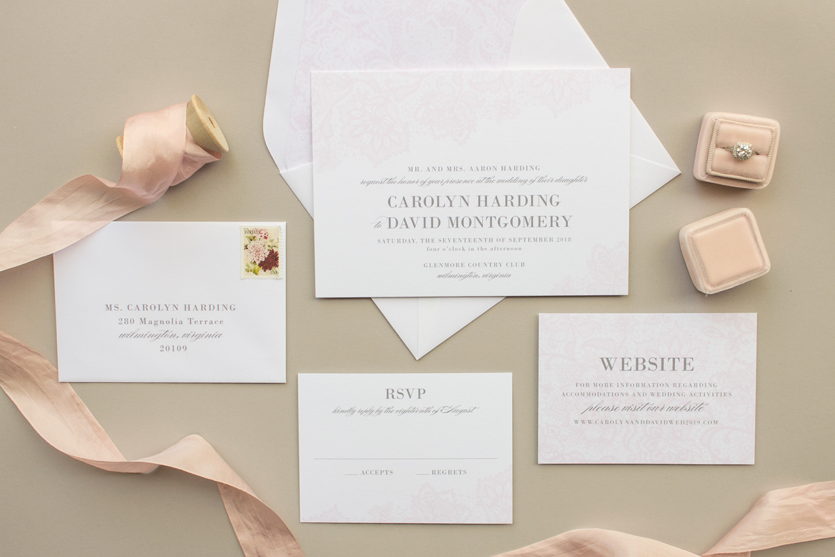 Wedding Stationery Guide: Ink Colors, Part I - Banter and Charm