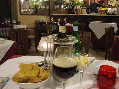 Venice, Vecio Fritolin, from the table