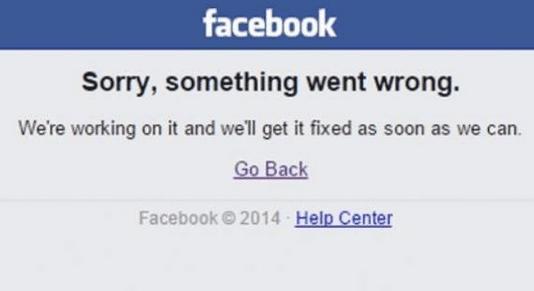 FB Eror down hari ini
