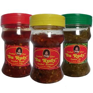 jual sambal bu rudy oleh oleh khas surabaya