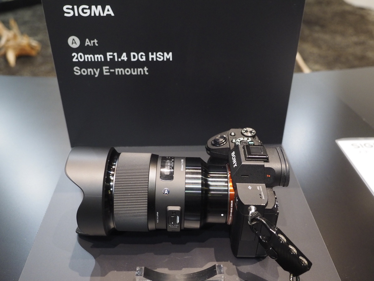 Sigma 20mm f/1.4 DG HSM Art