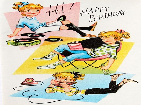 Happy Birthday Wishes Vintage Images