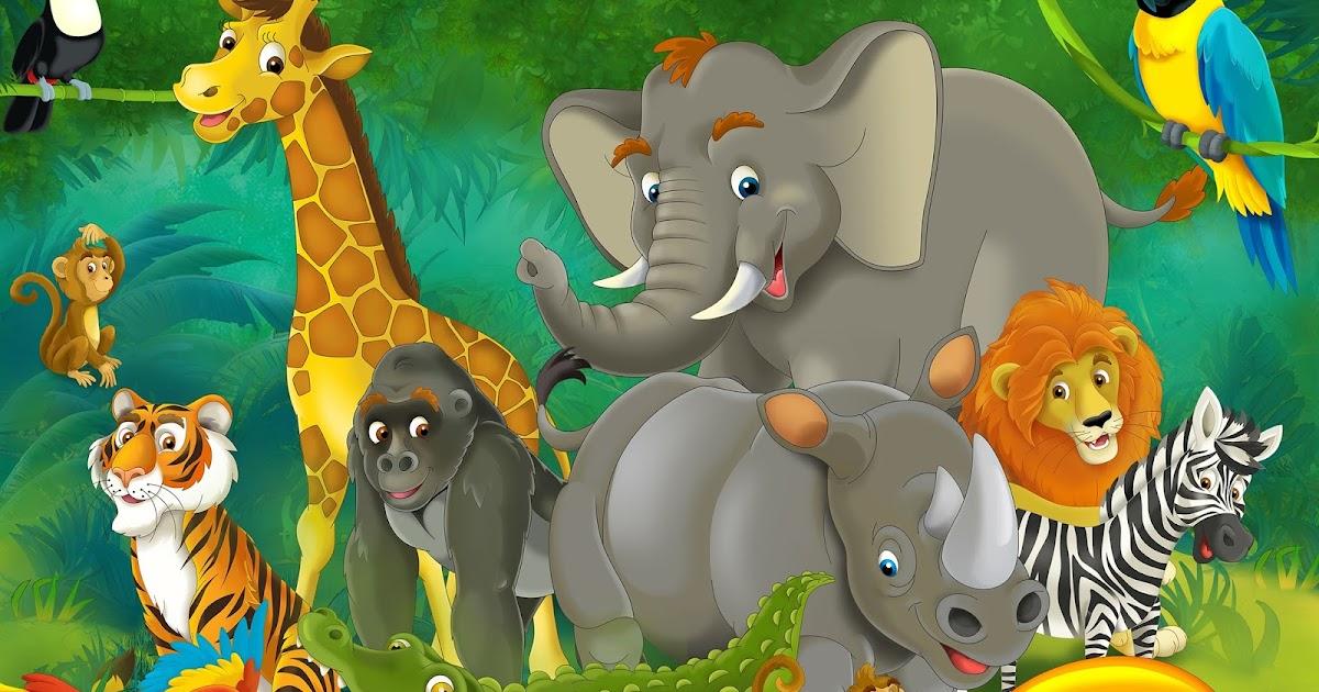 Imágene Experience: Ilustración de animales en la selva