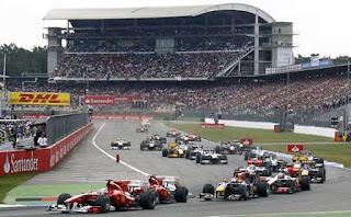 Circuito de Fórmula Uno en Hockenheim, Alemania