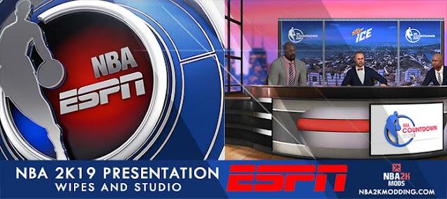 NBA 2K19 ESPN Presentation