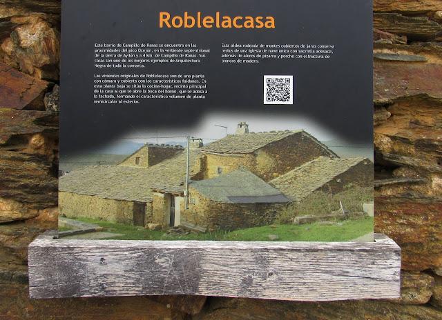 Casas de pizarra. Pueblos de arquitectura negra. Guadalajara