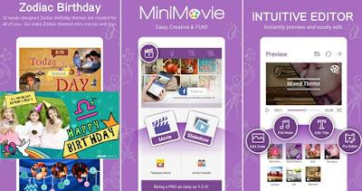 MiniMovie: SlideShow Video Edit