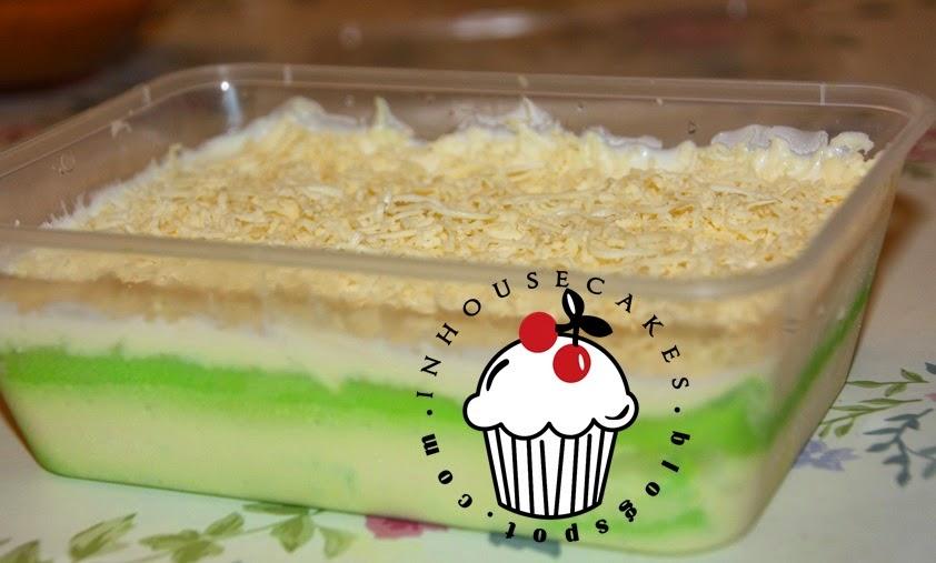 Pandan Leleh Pandan Lava Cheese Inhousecakes