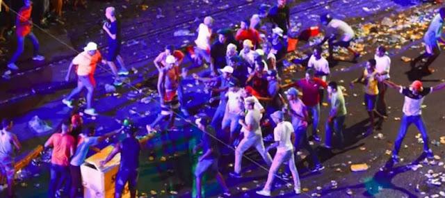 Tumulto, confusão e falta de mobilidade marcam noite de shows no Marco Zero