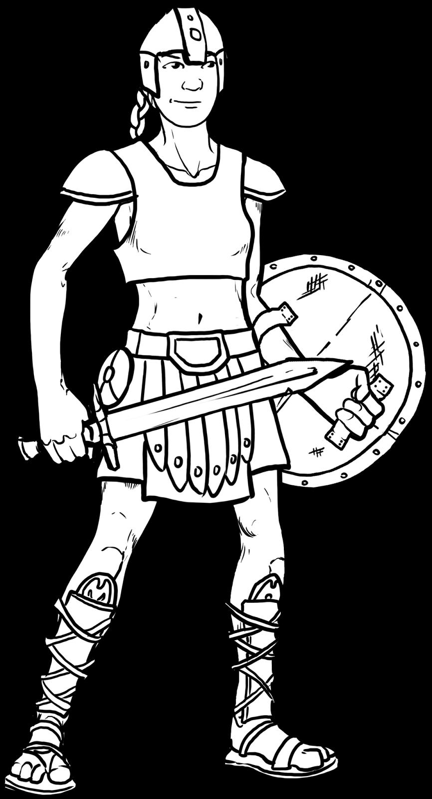 Hero Kids RPG: Dunno... Gladiators?