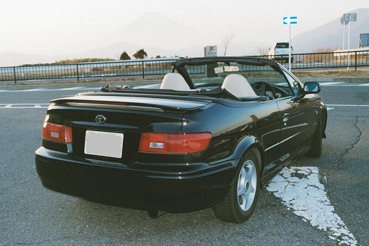 Toyota Paseo Cynos coupe japońskie