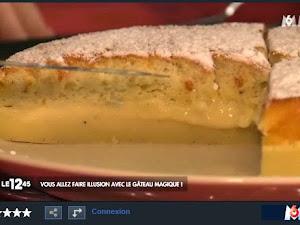 Le gâteau magique... A la télé :) {reportage M6}