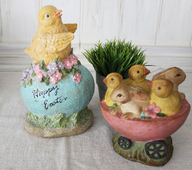 Vintage Easter Decor by Itsy Bits And Pieces