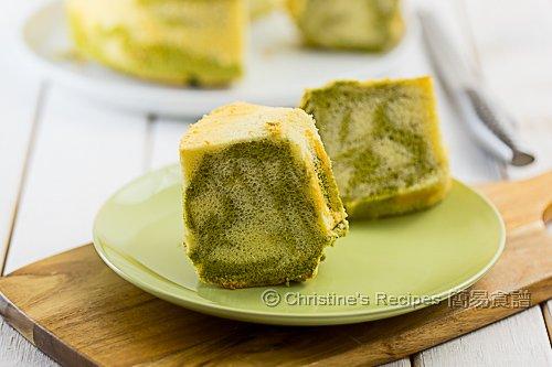 Matcha Marble Chiffon Cake02