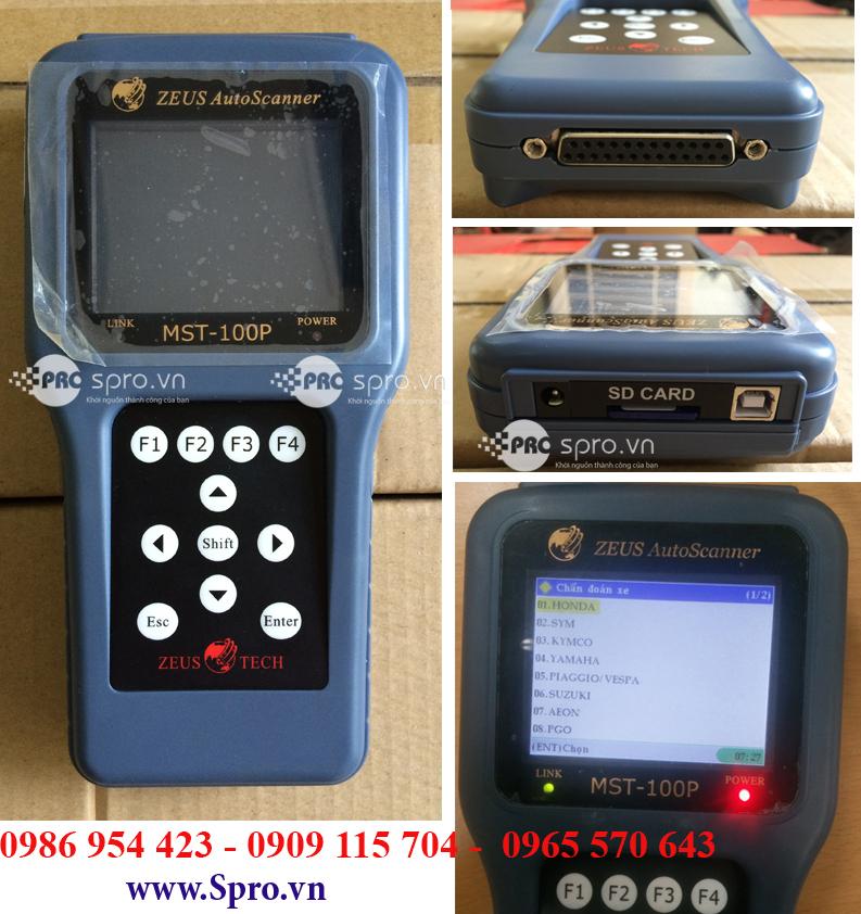 Nơi bán máy đọc lỗi xe máy phun xăng điện tử mst100p giá rẻ tại tp HCM