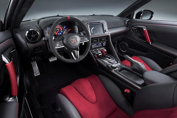 Interior Nissan GT-R NISMO 2017