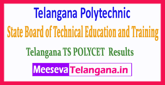 Telangana Polytechnic State Board of Technical Education Common Entrance Test TS POLYCET Results 2018 Download