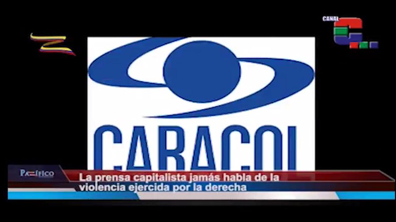 Así mienten los medios de comunicación capitalistas sobre las marchas en Venezuela
