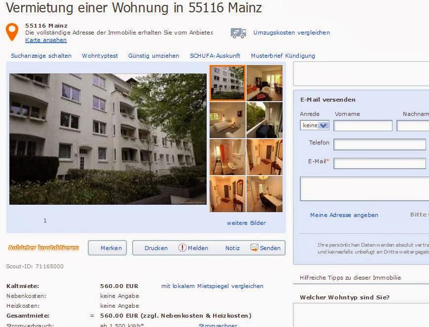 Wohnung Mieten Mainz Neustadt