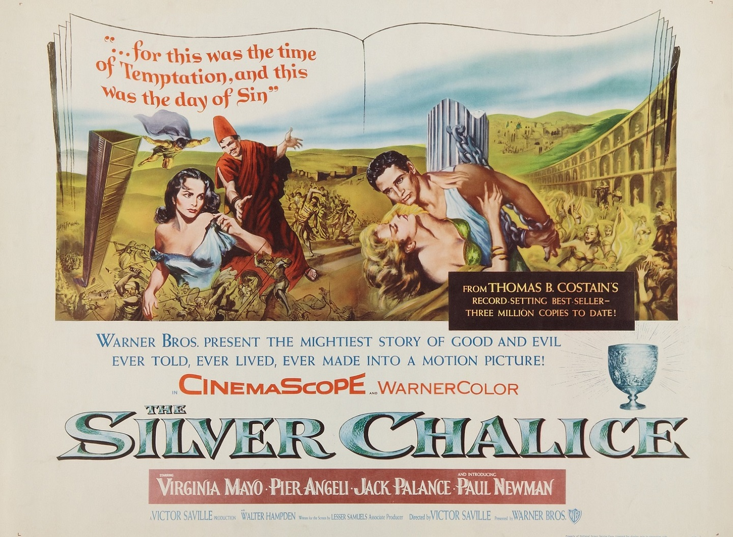THE SILVER CHALICE (1954) WEB SITE