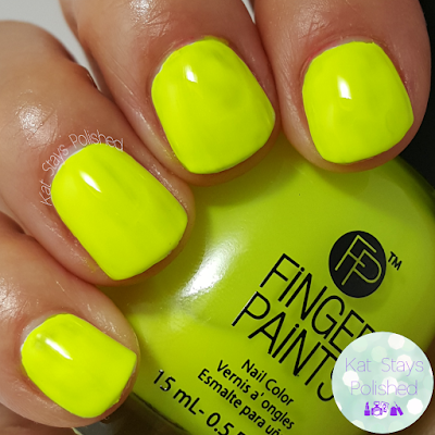 FingerPaints New Feb 2016 Shades - To the Plinth Degree | Kat Stays Polished