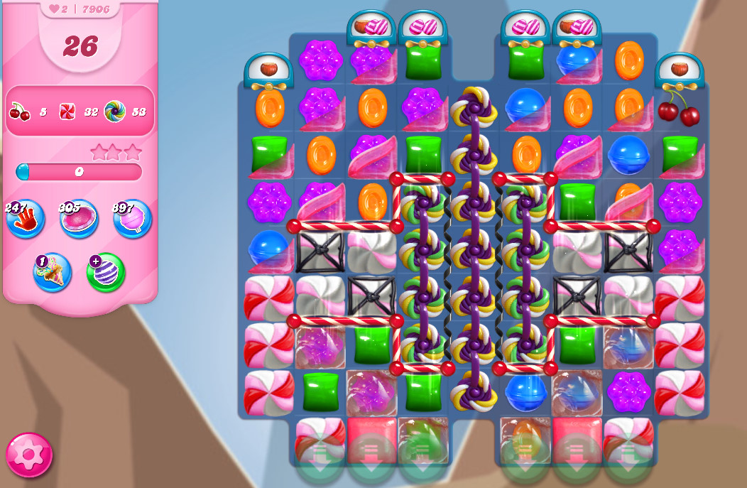 Candy Crush Saga level 7906