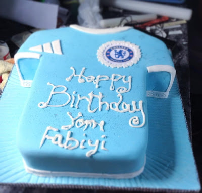 yomi fabiyi chelse birthday cake