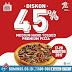 Domino's Pizza  Promo Weekend Periode 17 - 20 Agustus 2017