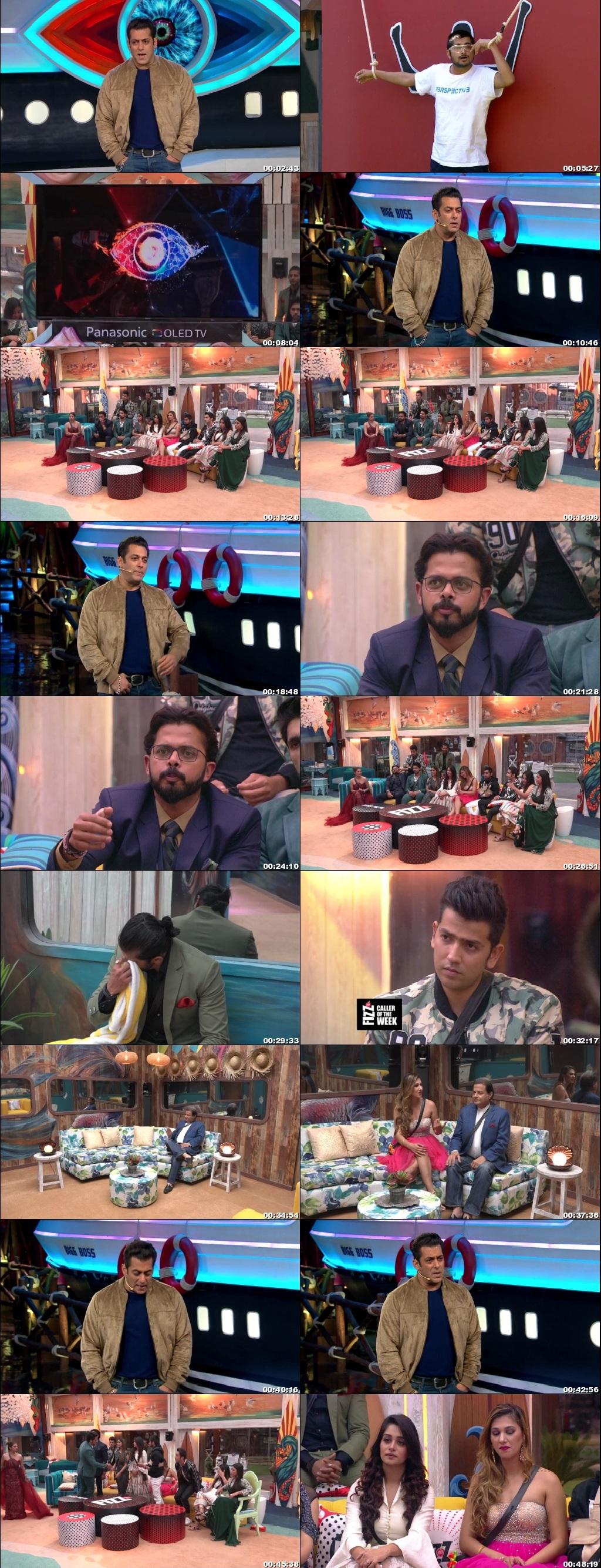 Screenshots Of Hindi Show Bigg Boss 12 17th November 2018 Episode 62 300MB 480P HD