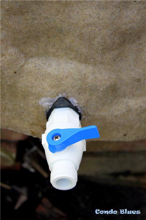 Condo Blues How To Replace A Rain Barrel Spigot