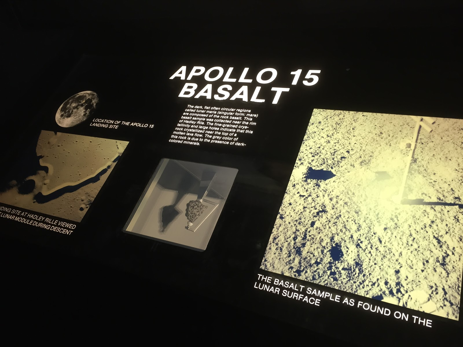 apollo moon rock