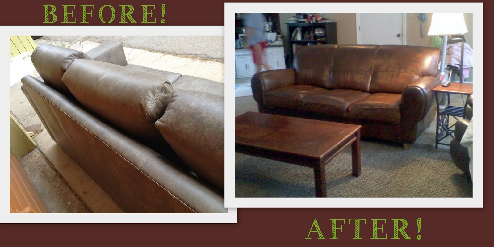 restoring leather sofa colour burgundy sleeper weeds how to dye or stain furniture