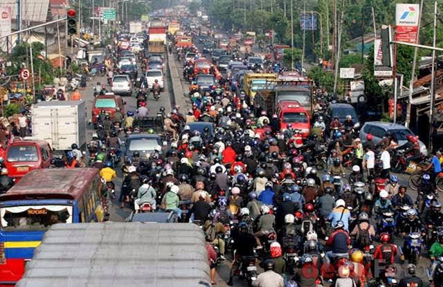 Macet di Bekasi