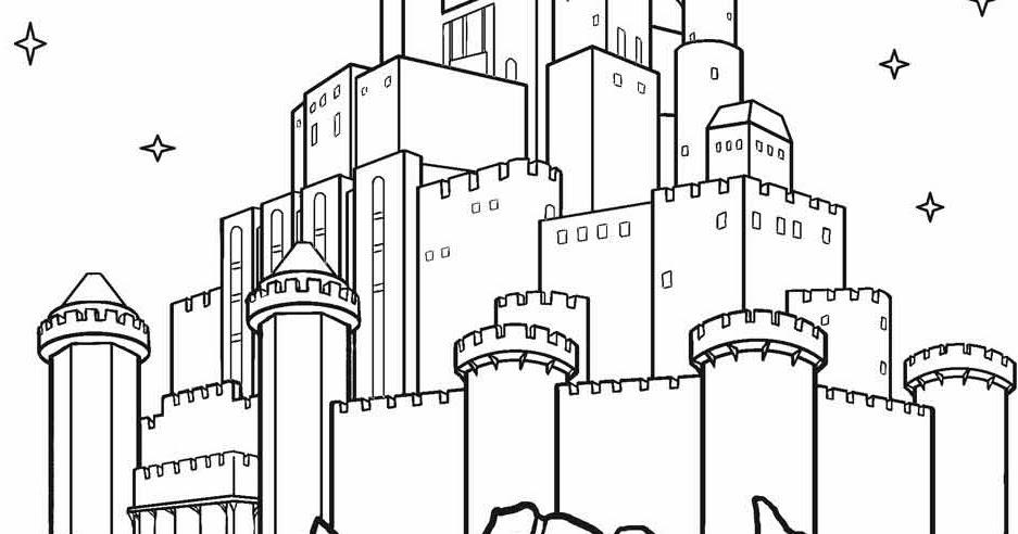 Galeri Gambar Istana Kartun Mewarnai Galeri Kartun