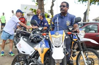Guarda Municipal reforçam policiamento da Orla de Olinda (PE)