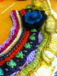 Crochet Wip:  Scaldacollo Paola