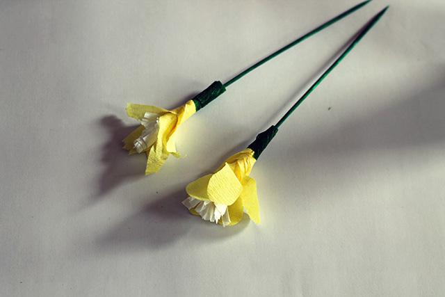 bloemen crepepapier