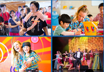 Costa cruises meraikan ulang tahun ke 10 di asia for Mural untuk kanak kanak