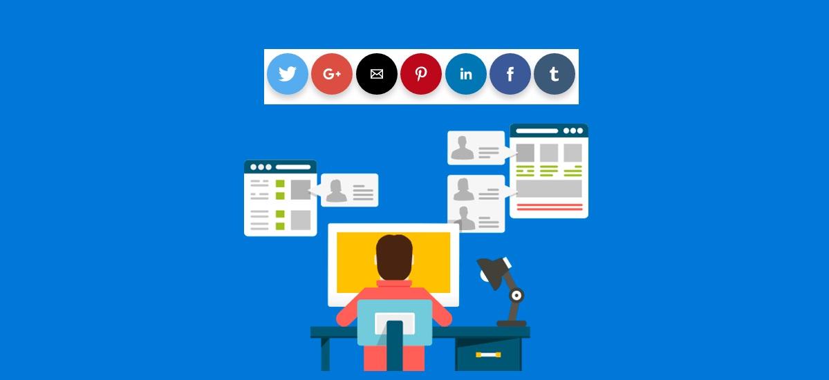 ¿Cómo insertar botones sociales en Amp HTML?