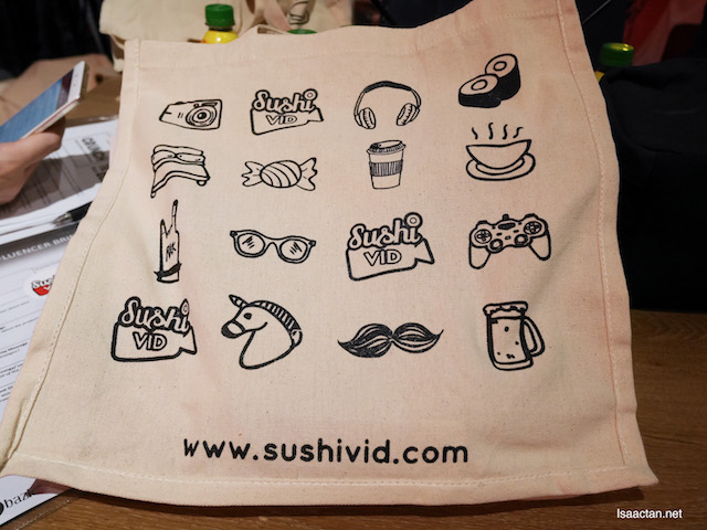 SushiVid! Love this bag