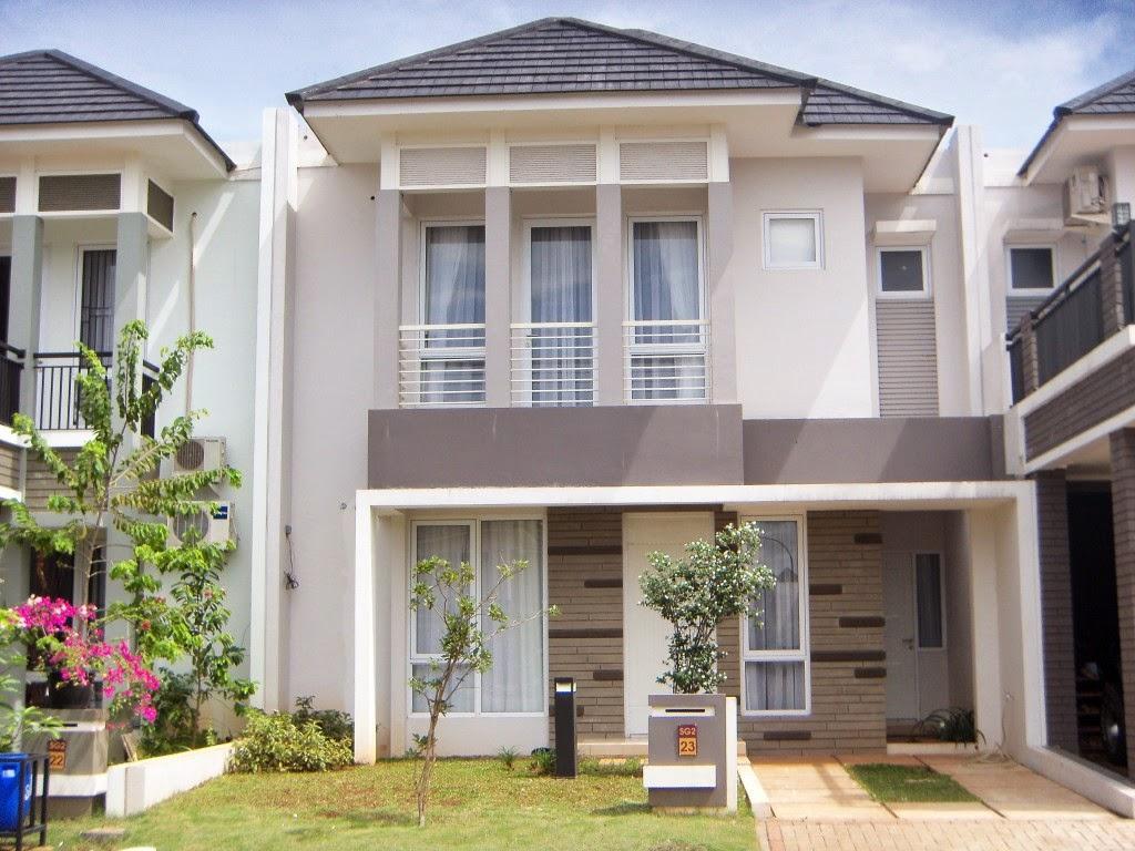 Contoh Rumah Minimalis 2 Lantai Paling Baru Rumah Idaman
