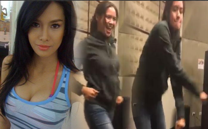 dancing video of Erich Gonzales
