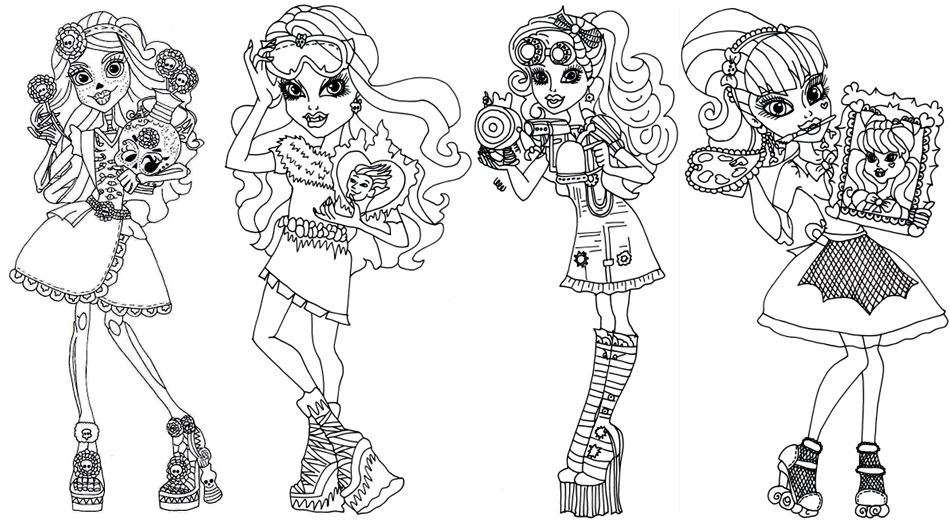 ImagesList.com: Monster High For Coloring, Part 1