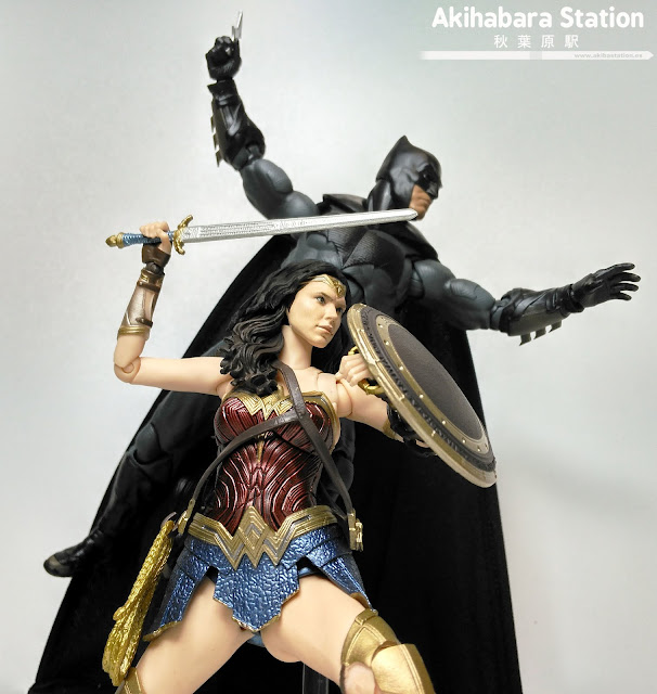 Review del S.H.Figuarts Wonder Woman Justice League - Tamashii Nations