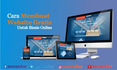 Cara Membuat Website Gratis Untuk Bisnis Online Menggunakan Blogspot