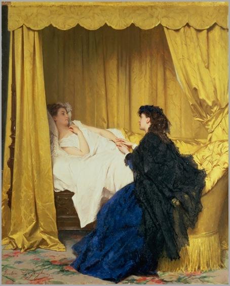 Paintings By Gustave Leonard de Jonghe  Belgium, 1829