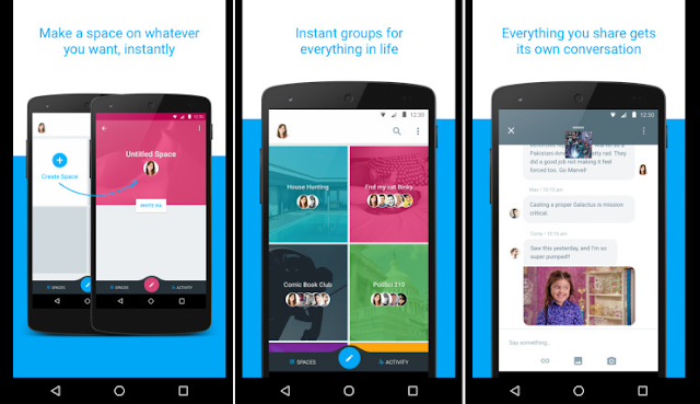 Download Google Spaces app for Android [ Apk Download ]