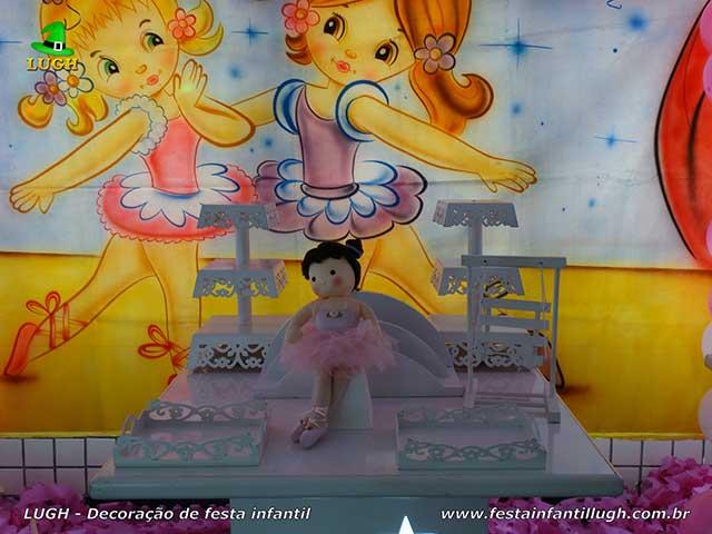 Decoração infantil tema Bailarinas, festa de aniversário