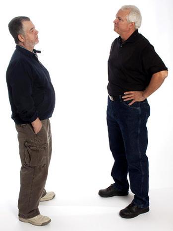 انا أضعك فى حجمك المناسب - لغة الجسد